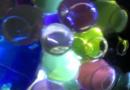 making sensory waterbead nightlights