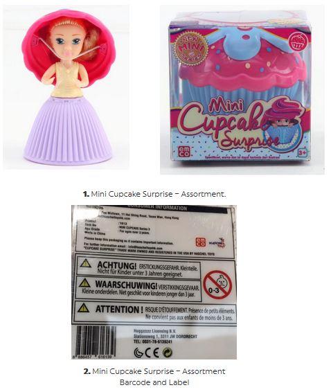 mini cupcake recall