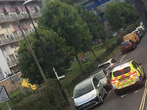 Police incident st judes bristol