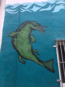 Street Art Bristol University