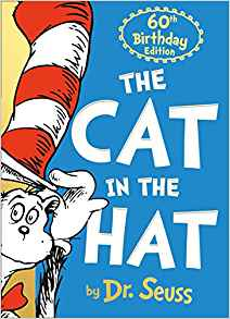 A cat in a hat book