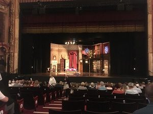 view of the stage from Bristol Hippodrome Stalls