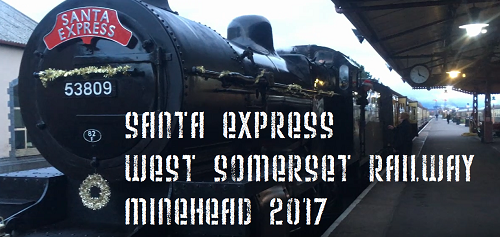 West Somerset Railway Santa Express