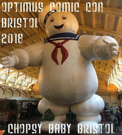 Optimus Comic Con Bristol 2018
