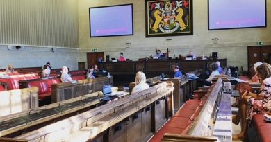 Photo of people scrutiny commission at City Hall Bristol