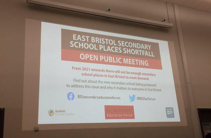 Bristol secondary school planning