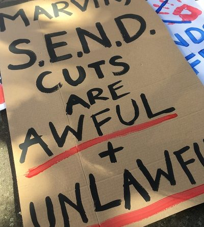 Bristol Court Protest send cuts