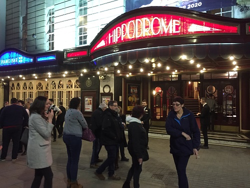 Bristol Hippodrome closes to the public