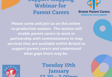 Bristol Parent Carers Support Mapping