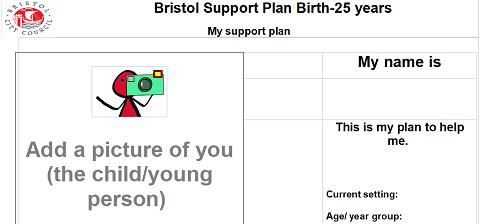 Bristol Send Support Plan