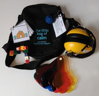 Bristol autism support bag M Shed