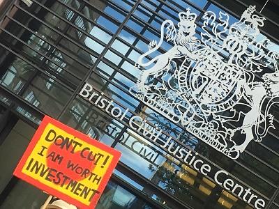 Bristol protest send cuts