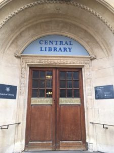 Central Library Doors Main Entrance