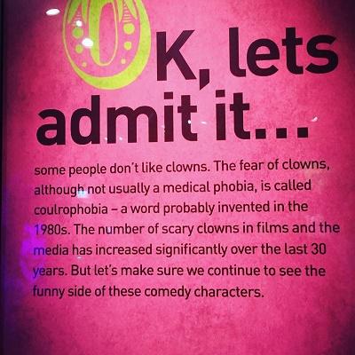 Clown Eggs Bristol Museum and art gallery