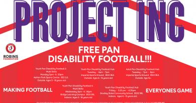 Disability football sessions Bristol City Robins Foundation