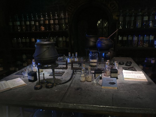 Harry Potter Studio Tour London Hogwarts in the Snow