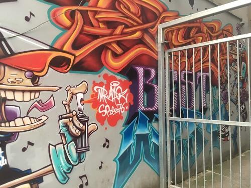 Street Art Gloucester Road Bristol
