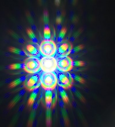 diffraction glasses or rainbow glasses