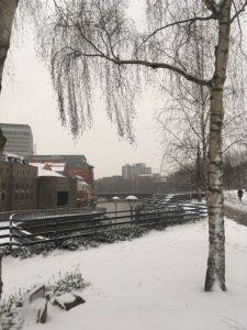 Snow Bristol Photograph images March 2018