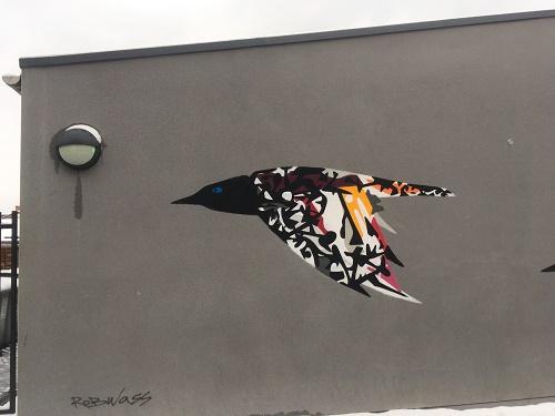 Street Art Bristol near Compass Point Bedminster