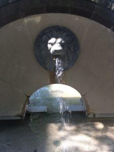 Lion fountain Bristol City Centre