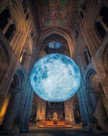 Luke Jerram Moon Bristol