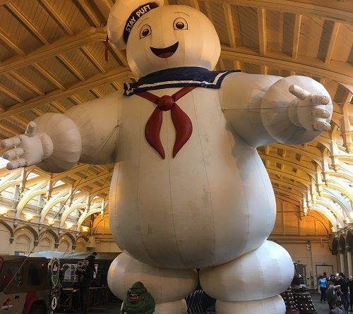 Mr Stay Puft Marshmallow Man Comic Con Bristol