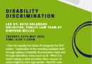 School Disability Discrimination