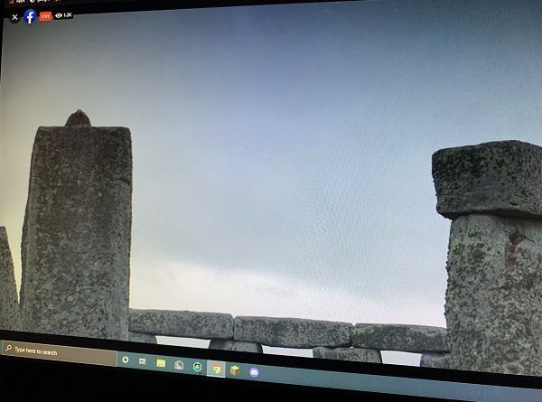 Stonehenge Live Feed Pulled by English Heritage