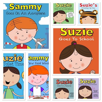 Suzie and Sammy books