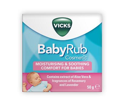 New Vicks Babyrub Aims To Help Grumpy Babies At Bedtime