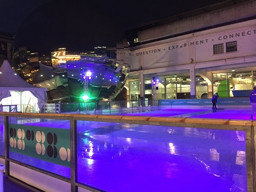 We the Curious Ice Rink Bristol