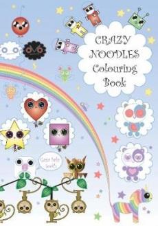 crazy noodles colouring book