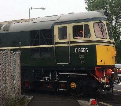 diesel train west somerset railway