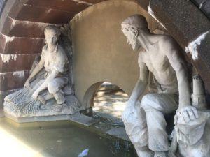 fountain bristol city centre