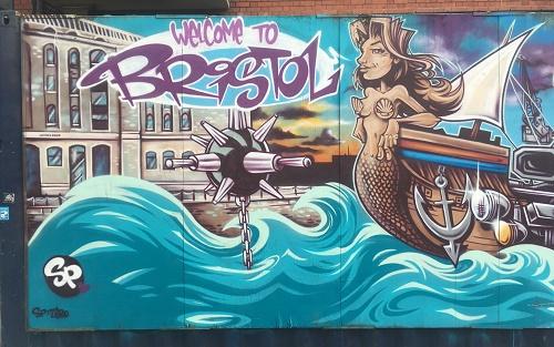 street art anchor road